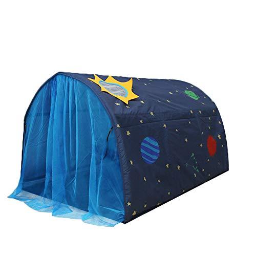 MNJM Enfants Lit Tente Jeu Maison Pliable Kid Dream Canopies Moustiquaire Intérieure