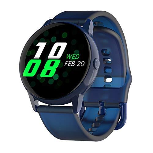 GAOword Smart Watch Mode Farbbildschirm Bluetooth Wasserdichtes Multifunktionales Sportarmband,Blau