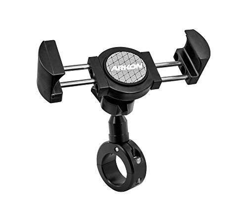 ARKON RoadVise XL Motorcycle Phone Mount for iPhone 7 6S 6 Plus Galaxy Note 5 S8 Galaxy Tab Retail Black