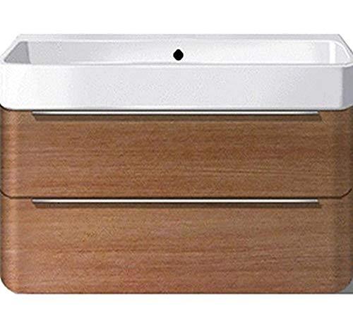 Duravit Waschtischunterschrank wandh. Happy D.2 480x625x380mm 2 SchKa, für 231865, amerik.nussbaum,