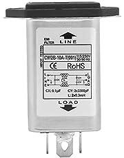 CW2B-10A-T Power EMI Filter con Fuse 2 in-1 Male Socket 125 / 250v