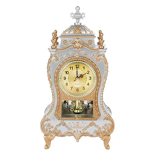 NXSP Desk Clock Vintage Clock, klassiek, Royalty Sitting Room TV kast