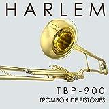 Trombón Harlem de pistones TBP-900 Nuevo! Estuche liviano tipo mochila, boquilla, accesorios. Envío gratis!