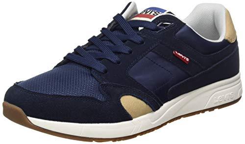 Levis Footwear and Accessories Sutter, Zapatillas Hombre, Azul (Navy Blue 17), 45 EU
