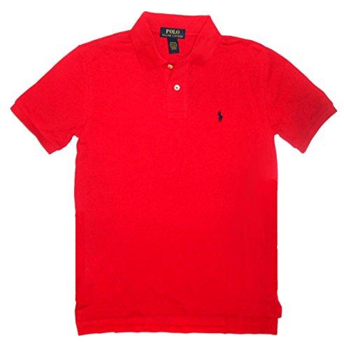 Polo Ralph Lauren Boy's Polo Short Sleeve Red L(14-16)