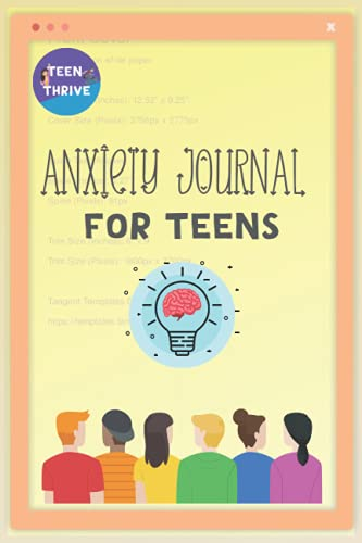 Anxiety Journal For Teens: A Fun Notebook for Teens with Prompts to Track Your Anxiety