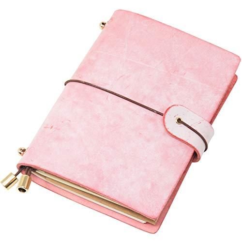 Molonbutterfly Leather Journal, Handmade...