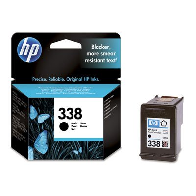 1Original Cartucho de tinta para impresora HP PSC 1610, color negro