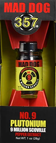 357 Mad Dog Plutonium 9 Mio. Scoville - Chili Pepper Extrakt - 28g (Schärfe 10+++)