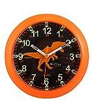 Kiddus Ki50117 Dino ES Orologio Pedagogico per Bambine e Bambini, Analogico, Impara l'ora con il nostro semplice sistema Time Teacher, esercizi inclusi