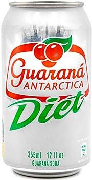 12-Pack Guarana ANTARCTICA Diet Guarana Flavoured Soft Drink, 355ml