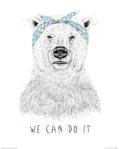 El Arte Grupo Balazs Solti We Can Do It–Lámina