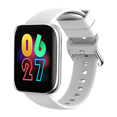 Elibeauty Smartwatch-Fitness-Tracker, Bluetooth, großer Farbbildschirm, wasserdicht, Schrittzähler für Kinder, Männer und Frauen (grau)