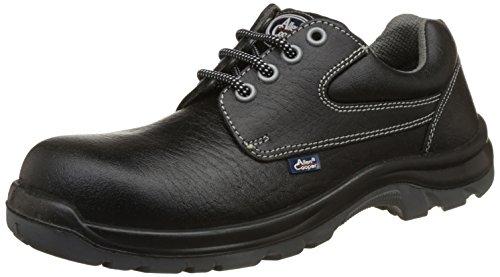 Allen Cooper AC-1265 Shock Resistant Safety Shoe, FRP Toe Cap for 200 Joules, Black, Size 8