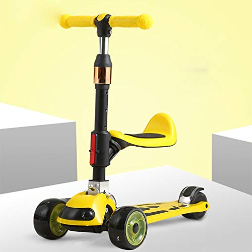 Find Discount Scooters Self Balancing Children Over 1 Year Old Cartoon Bicycle with Swivel Seat Outd...