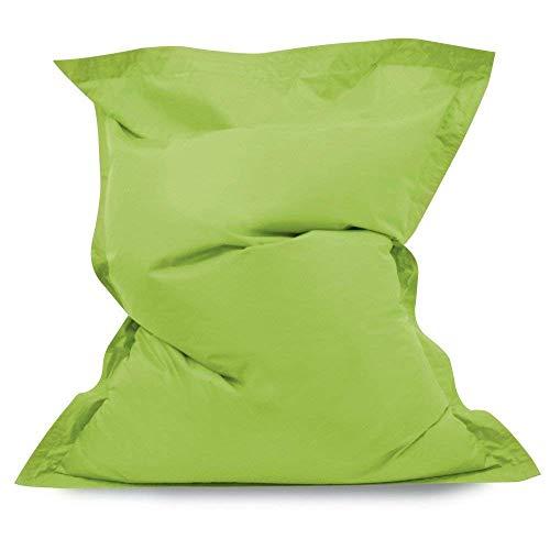 Hi-BagZ® Pouf géant imperméable pour intérieur et extérieur Vert Citron