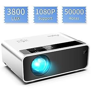 YG300 Profesional Mini proyector de Cine en casa HD1080P LED ...