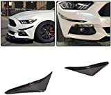 DIQON Adecuado para Ford Mustang GT Shelby Gt350 Ecoboost V6 V8 2D 2015 2016 2017 Fibra De Carbono Parachoques Delantero Entrada De Aire Campana De Ventilación Spoiler Splitter Fender Scoop Winglet