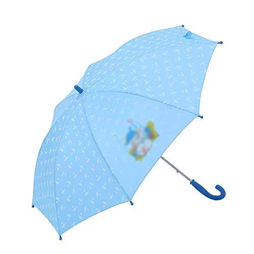 GL-home Farbwechselschirm, Kinderregenschirm, Kinderregenschirm, mit unverwüstlichem winddichtem Fiberglas, Sonne und Regen, geeignet für Jungen und Mädchen, 8 Rippen (4-12 Jahre alt)