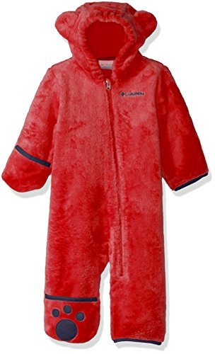 Columbia Unisex Infant Foxy Baby II Bunting, Red Spark, 3/6