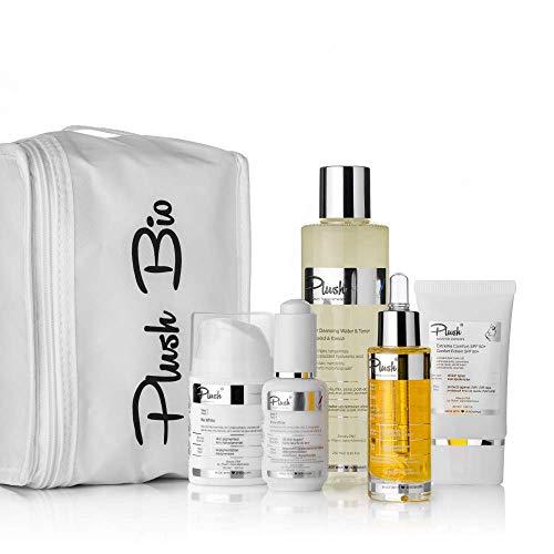 Plush luxuryBIOcosmetics - Set 5 productos con una bolsa térmica de regalo - tipos de piel: todos