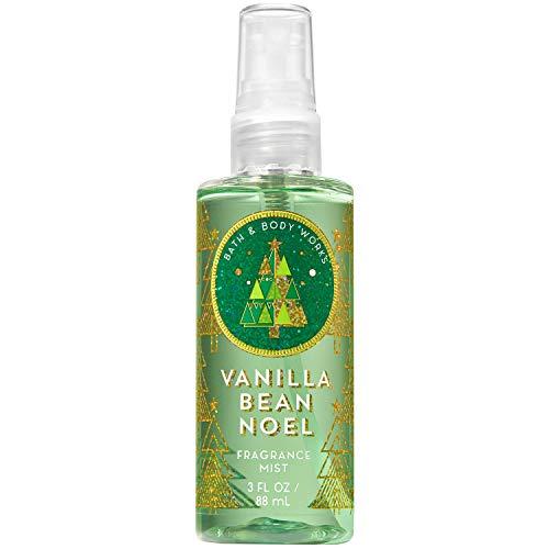 Bath and Body Works VANILLA BEAN NOEL Travel Size Fine Fragrance Mist 3 Fluid Ounce
