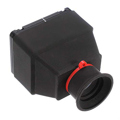 Runshuangyu Photonewplaza 3X Magnification LCD Viewfinder 3X Loupe Magnifying Universal Magnifier for 3.2' Screen, for Nikon Canon Sony DSLR Camera Camcorder- Rubber