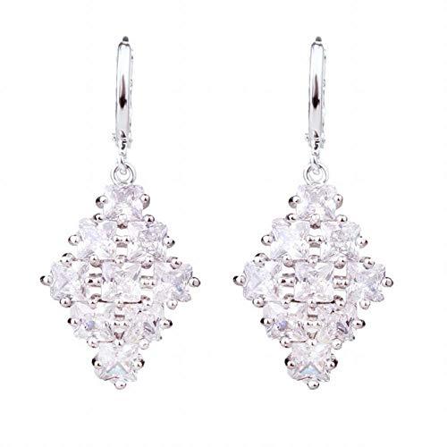Mode-Trend Ohrringe Mode Wasser Vorhang Ohrringe Aaa Zirkon Strass Set mit langen Quaste Ohrringe Ohrringe Geschenk weibliche Ohrringe, B