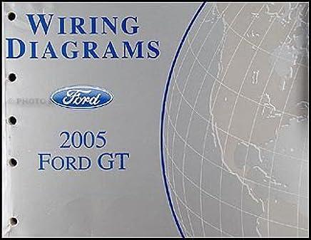 2005 ford gt wiring diagram manual original