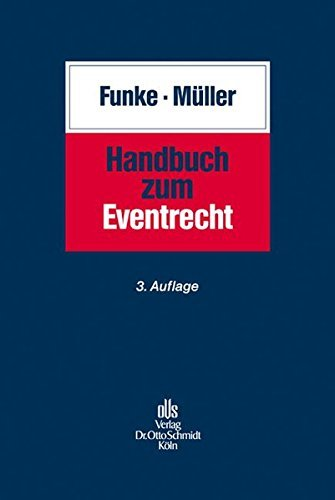 Handbuch zum Eventrecht by Elmar Funke (2009-04-03)