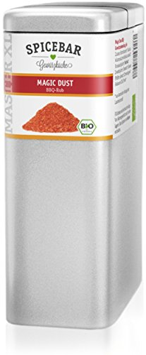 Magic Dust BBQ Rub in Premium-Bio Qualität, 500g im Profi-Streuer