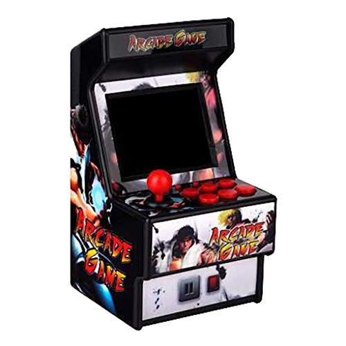 Mini Recreativa Arcade / 156 Juegos / 16 bits STRIR Mini consola de juegos portátil de Arcade Classic Retro New Street Fighter Home Consola de juegos Arcade Consola d (A)