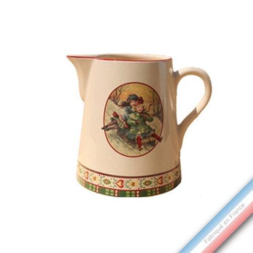 Niderviller 1735 Collection Saint PETERSBOURG - Pot Conique 3 - H 16 cm - 1 L - Lot de 1