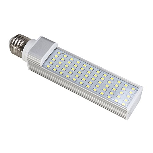 UEETEK Aquarium Beleuchtung - LED Licht für Süßwasser-Aquarien - Aquarium Lampe LED für Pflanze, energiesparende LED-Lampe für Fische Tank 11W E27 (weiß)
