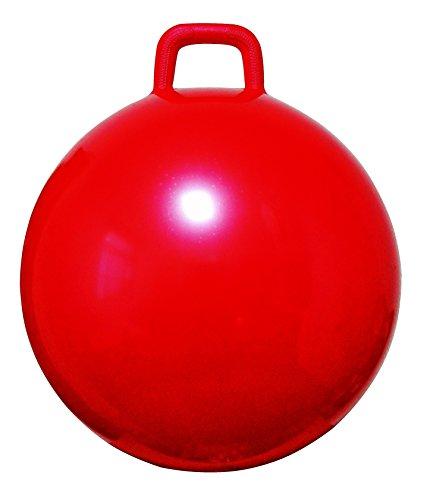 AppleRound Space Hopper Ball with Pump, 18in/45cm Diameter for Ages 3-6, Hop Ball, Kangaroo Bouncer, Hoppity Hippity Hop