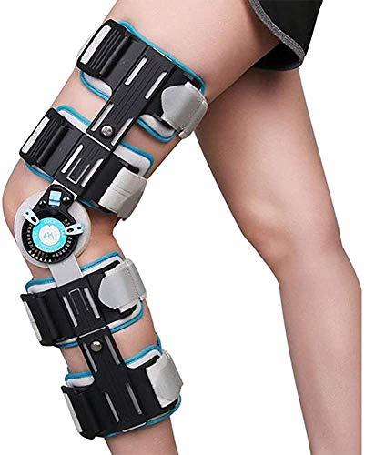 XHDMJ Knieorthese – Verstellbare Knieschiene Für Arthritis, Sehnenentzündung, Kreuzband, Sportverletzung, Arthrose, Frauen, Männer, Laufen, Meniskus- Und Patellachirurgie