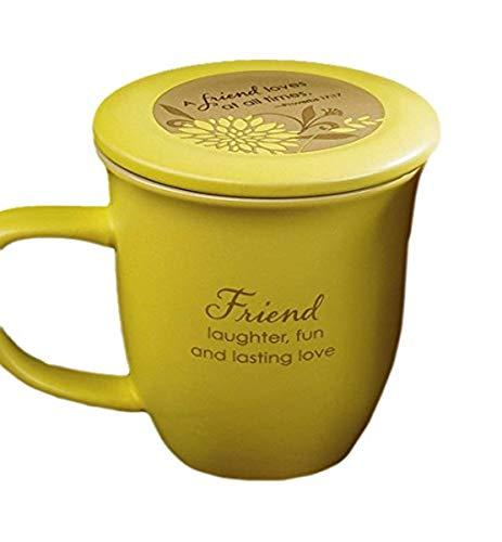 Abbey Gift Friend Mug and Coaster Set, 4 by 4.38'