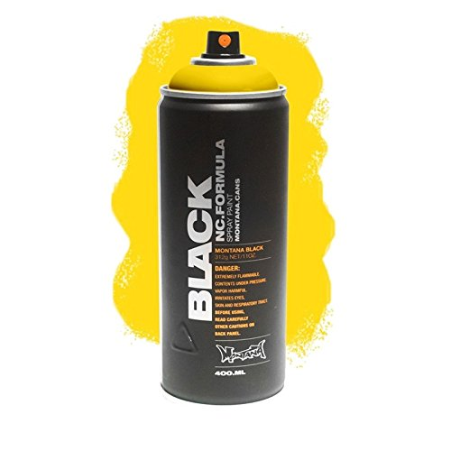 Spray color amarillo Montana BLK1025 Kick yellow 400ml