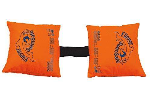 Flipper Swimsafe 1080 - Schwimmkissen aus Baumwolle, mit verstellbarem Gummiband, für Kleinkinder ab 2 Jahren, sichere Schwimmhilfe im Hallenbad, Freibad, im Pool, am Meer und See
