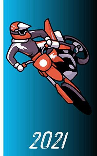 Calendario 2021 - motocicletta a motivi: Calendario per l'anno 2021 | agenda settimanale con motivo motociclistico| incluso calendario annuale ... annuale | idea regalo per i motociclisti