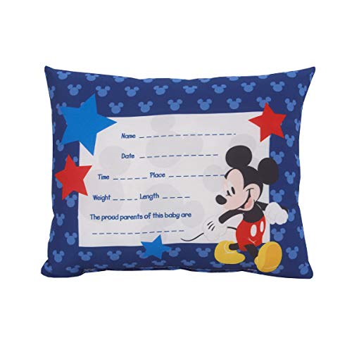 of lambs ivy crib beddings dec 2021 theres one clear winner Disney Mickey Mouse Decorative Keepsake Pillow – Personalized Birth Pillow