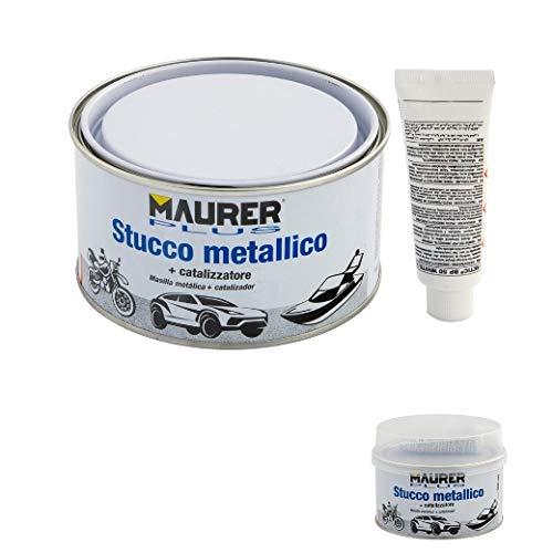 MAURER 14076005 Masilla Reparadora Metales 500 ml. con Endurecedor