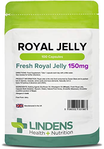 Lindens - Royal Jelly 150mg Kapseln - 100 Stuck