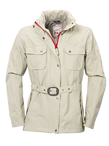 Fifty Five Damen Freizeitjacke Übergangsjacke Lake Nipigon, Beige (Sand 001), 40