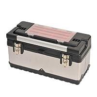 ステンレス工具箱 505×235×260mm SSC-500W/ツールボックス/パーツケース【SK11】