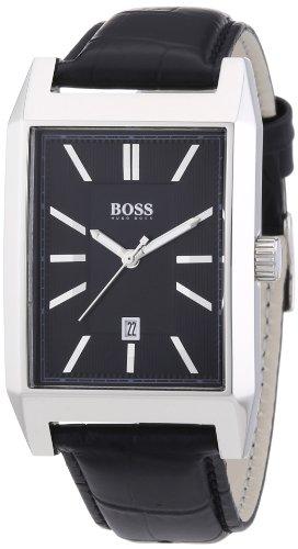 Hugo Boss Herren-Armbanduhr Analog Quarz Leder 1512915