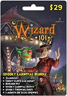 Wizard 101 Spooky Carnival Bundle Prepaid Game Card