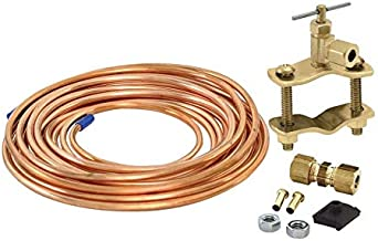 EASTMAN 15' Copper Icemaker Kit with Saddle Valve 98531