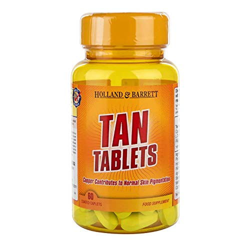 Holland & Barrett Tan Tanning Supplement - 60 Tablets