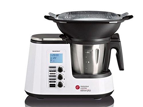SILVERCREST Robot de Cocina Monsieur Cuisine Edition Plus SKMK 1200 A1: Amazon.es: Hogar